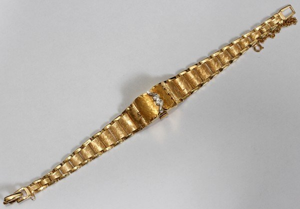 080003: WITTNAUER 14KT GOLD LADY'S WATCH