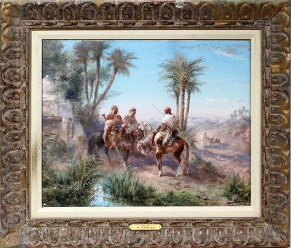 081001: PAUL PASCAL (1832-1903), GOUACHE, LATE 19TH C.