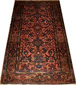 "090045: HAMADAN PERSIAN WOOL ORIENTAL RUG 6' X 3'6"""