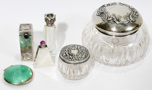 102538: FRENCH & NORTH AMERICAN VANITY ITEMS,