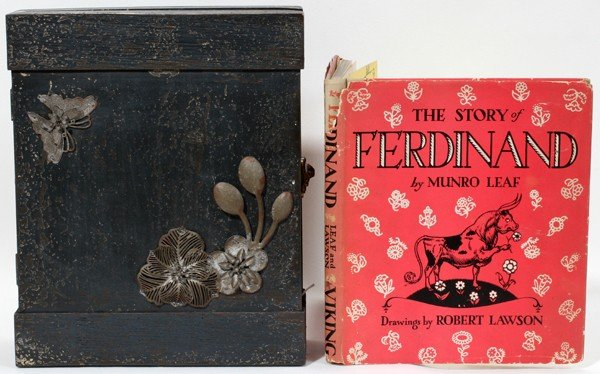 110001: MUNRO LEAF 'THE STORY OF FERDINAND' ILLUSTRATED