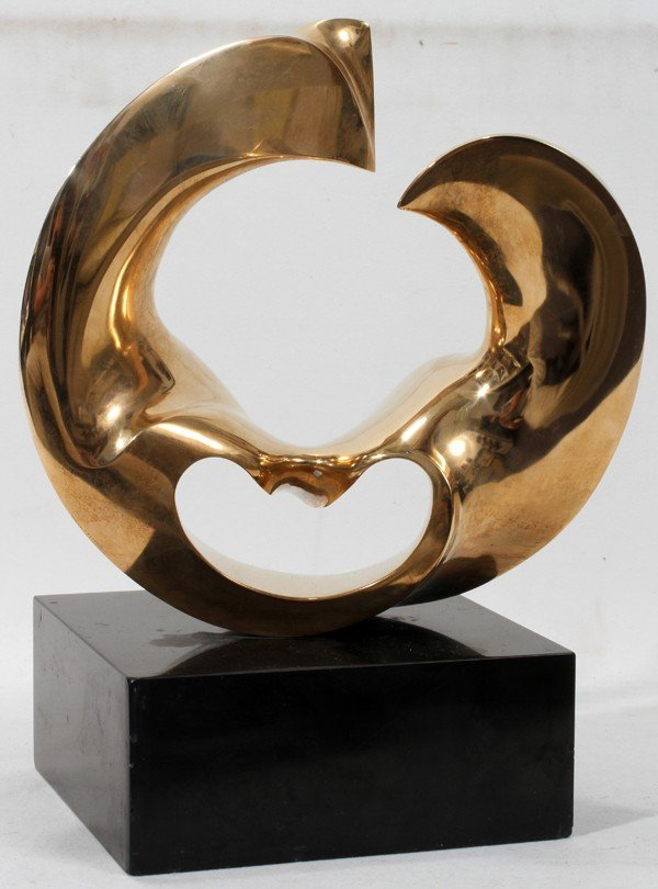 110013: ANTONIO GREDIAGA KIEFF POLISHED BRONZE H 15""