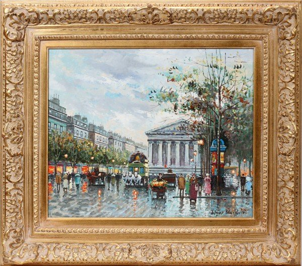 112009: AFTER ANTOINE BLANCHARD, OIL ON CANVAS