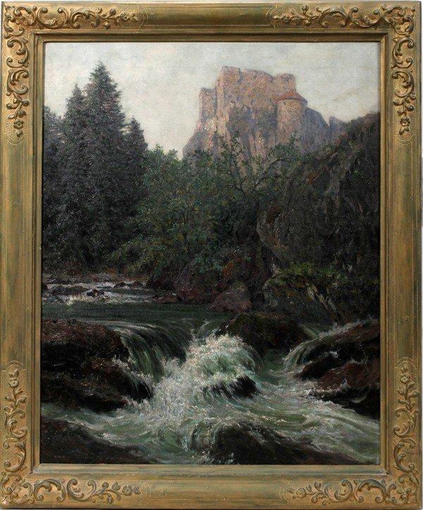112014: KARL LUDWIG PRINZ (1875-1944) OIL/CANVAS