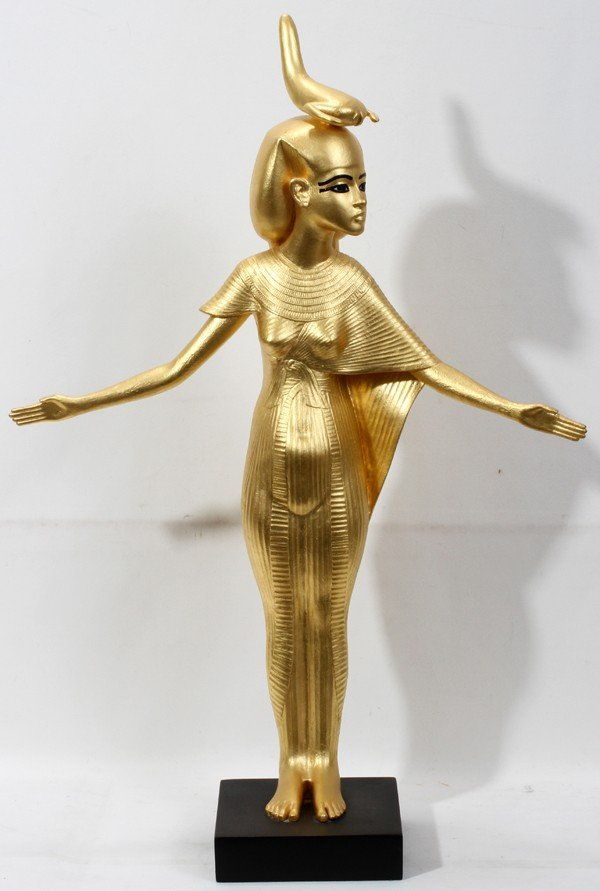 10388690_1_x?version=1321892174&width=1600&format=pjpg&auto=webp cast resin gold selket sculpture  at crackthecode.co