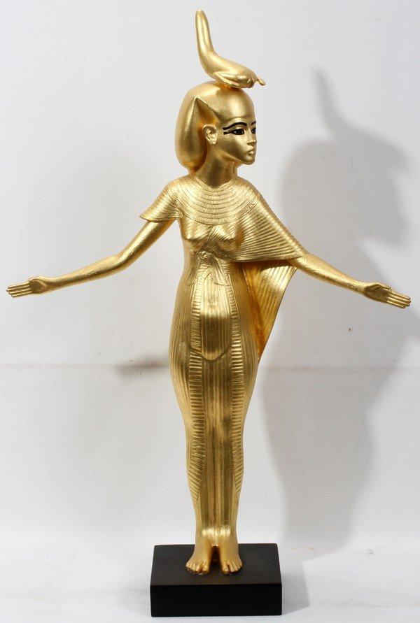 10388690_1_x?version=1321892174&width=1600&format=pjpg&auto=webp cast resin gold selket sculpture  at crackthecode.co