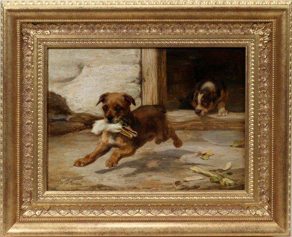 122007: WM. H. H. TROOD [BRITISH) OIL/CANVAS, 1892