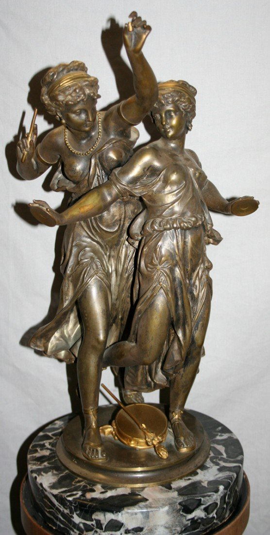 010020: AFTER DUMAIGE, CLASSICAL BRONZE SCULPTURE,