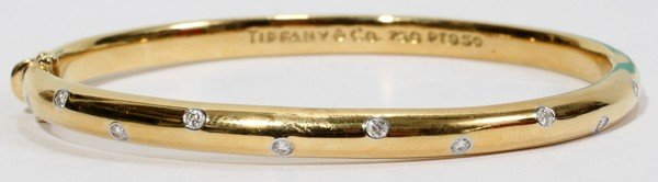 012128: TIFFANY & CO. 'ETOILE' DIAMOND BRACELET