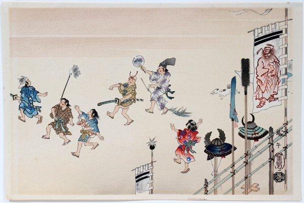 022397: KINCHOU UCHIDA, JAPANESE SHOWA WOODBLOCK PRINT