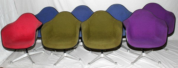 021166: CHARLES & RAY EAMES/HERMAN MILLER CHAIRS