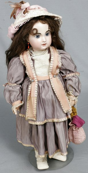 093020: JUMEAU, BISQUE HEAD COMPOSITION BODY GIRL DOLL