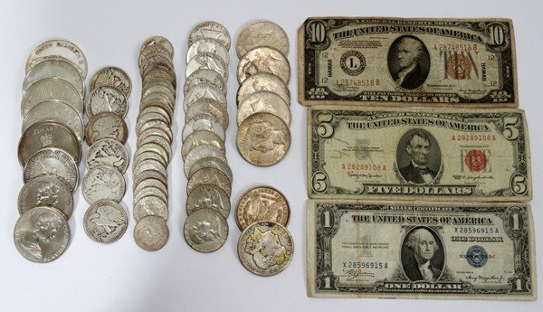 030307: AMERICAN & FOREIGN COINS & PAPER CURRENCY,