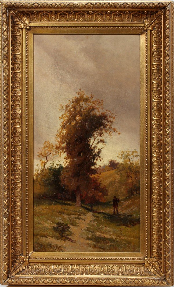 032009: CHARLES HARRY (HENRY) EATON, OIL ON CANVAS