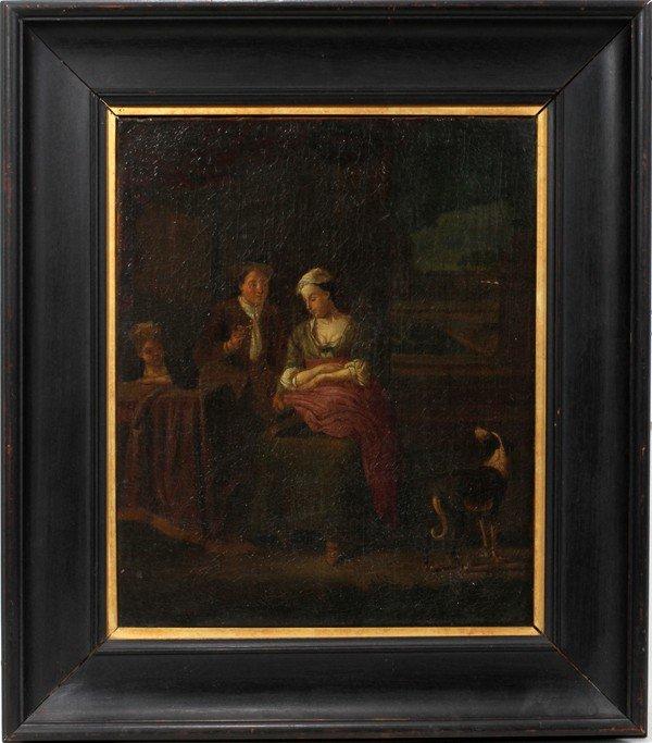 032018: NORTHERN EUROPEAN OIL ON CANVAS, C. 1820-1870