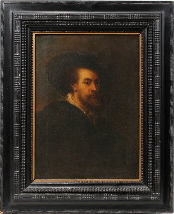 032019: ANGIOLO CHERCI, OIL ON CANVAS AFTER RUBENS