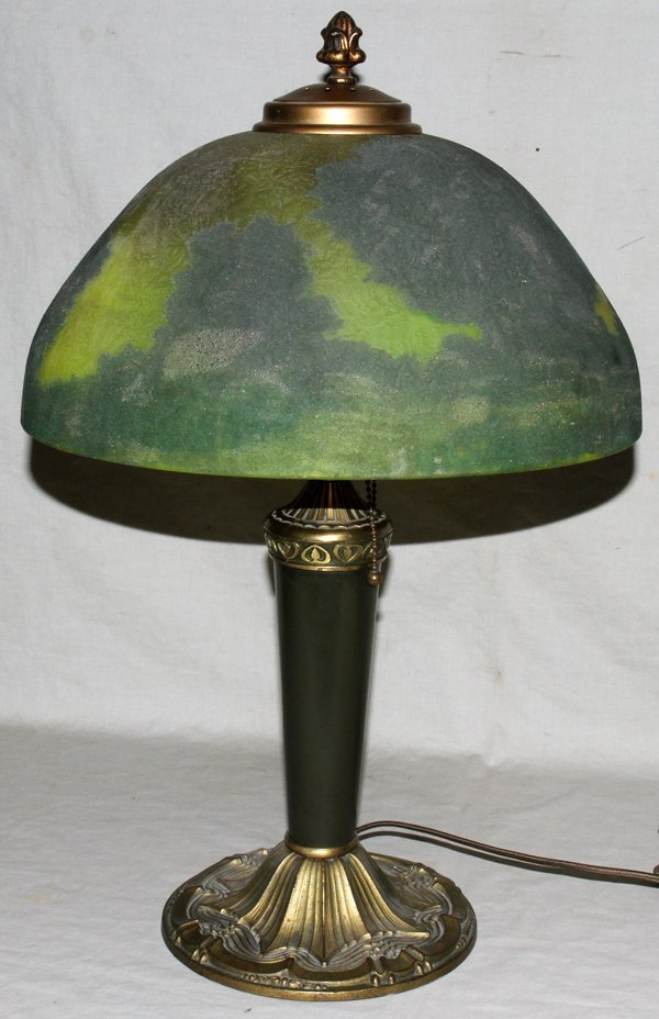 "040010: REVERSE PAINTED LAMP   20"""