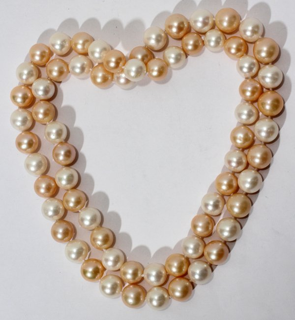 """041056: 11.0-12.5MM PEARL NECKLACE 31"""""""