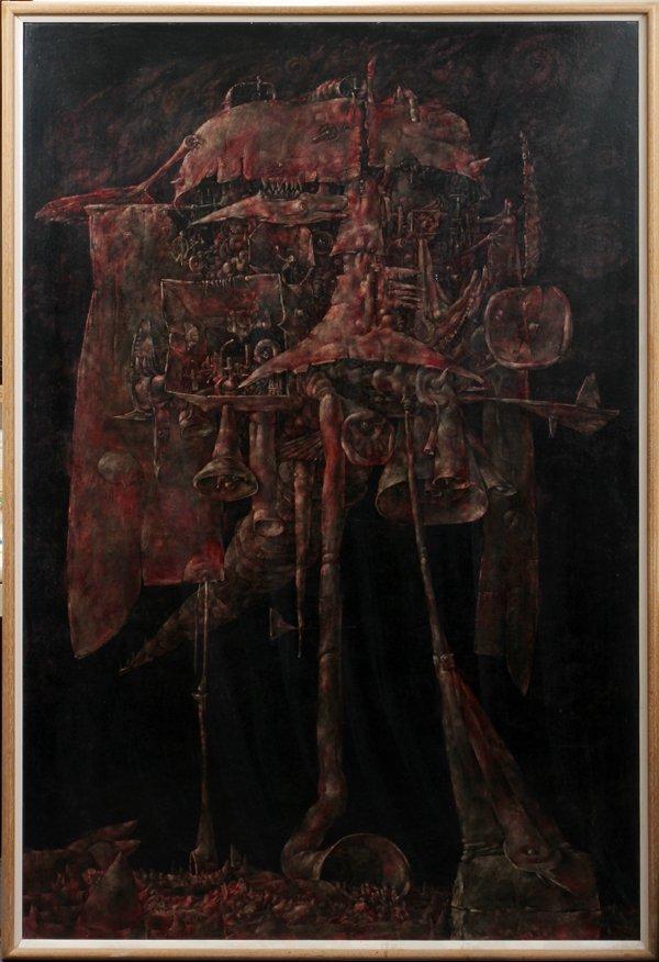 "042017: GERALD MCLAUGHLIN OIL/MASONITE ""THE SECOND ARK"""