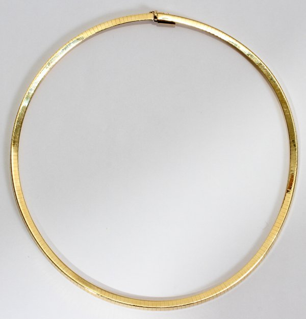 042183: ITALIAN 14 KT YELLOW GOLD NECKLACE 33 GRAMS