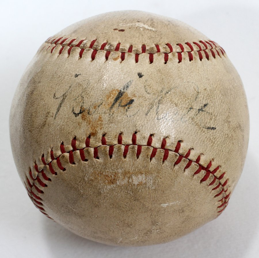 050182: BABE RUTH AUTOGRAPHED 'PROFESSIONAL' BASEBALL,