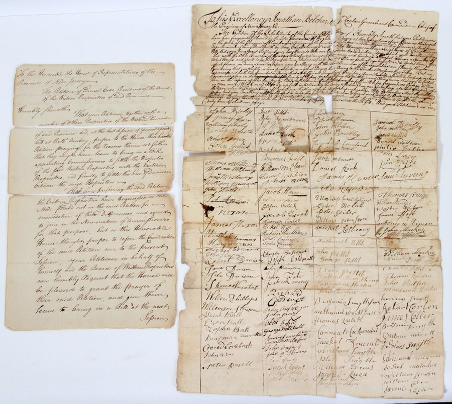 051066: COLONIAL NEW JERSEY PETITION DOCUMENTS (2)
