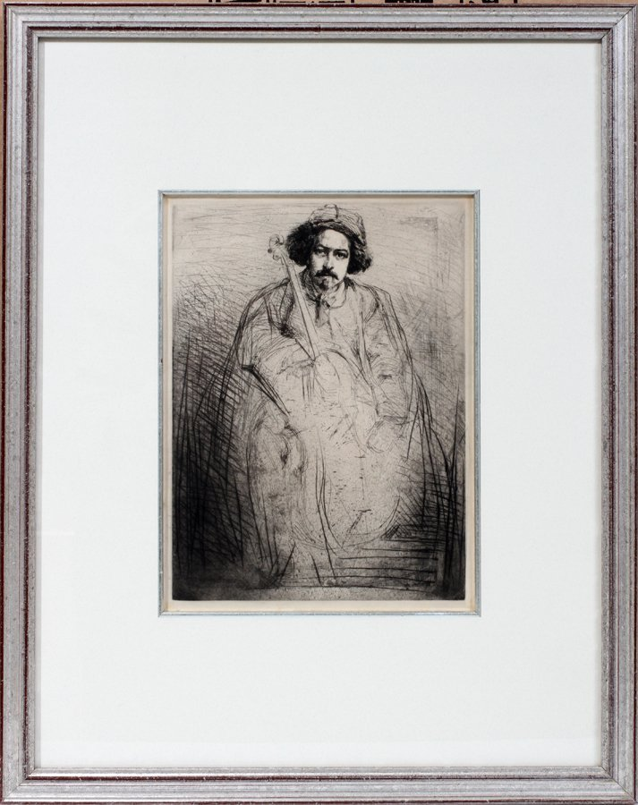 052042: JAMES ABBOT MCNEIL WHISTLER ETCHING & DRYPOINT,