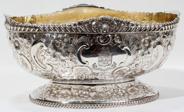 061015: ATKIN BROTHERS STERLING SILVER CENTERPIECE BOWL