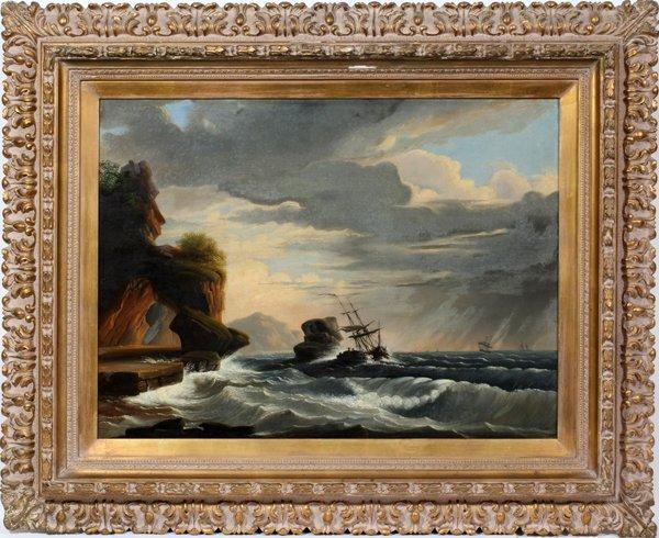 062006: EDMUND C. COATES (US ACT. 1837-72), OIL/CANVAS
