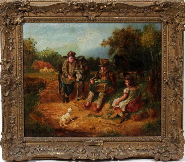 062022: HENRY BRYANT, [BRITISH ACT. 1860-90] OIL/CANVAS