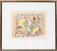 062239: PABLO PICASSO (1881-1973), COLOR LITHOGRAPH