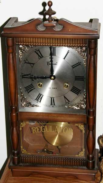 100170 Centurion Regulator 35 Day Wall Clock