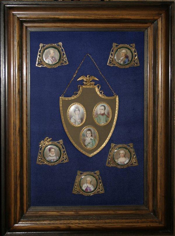 070006: NAPOLEONIC SEVRES AND FRENCH PORCELAIN PORTRAIT