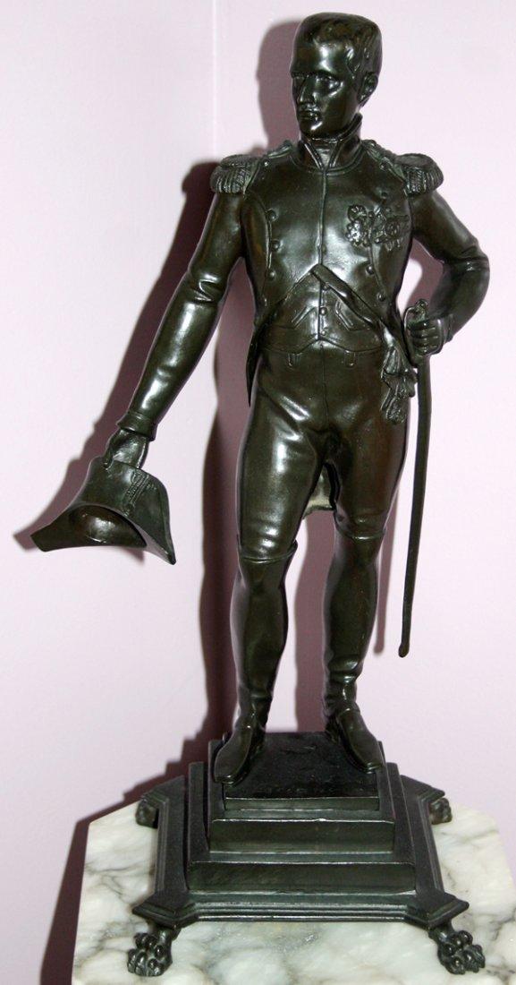 070015: CECIANI BRONZE STANDING FIGURE OF NAPOLEON