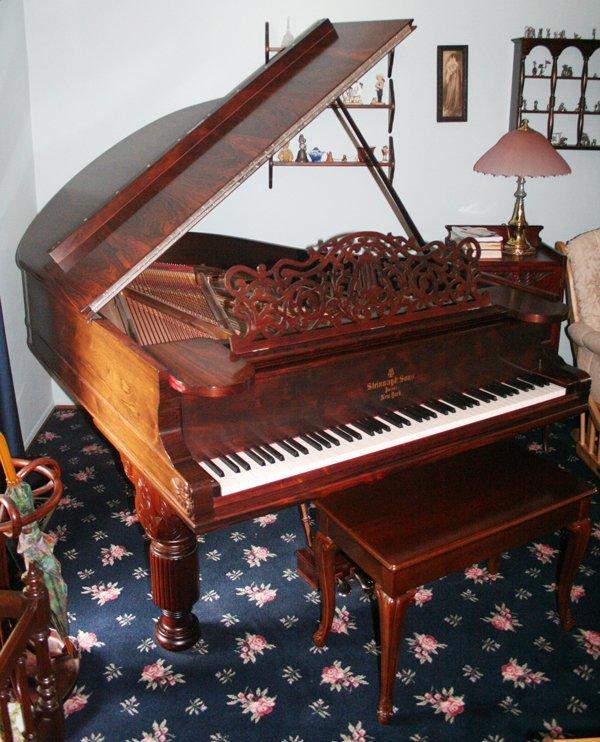 070020:STEINWAY GRAND PIANO, MODEL 'A', 1877,