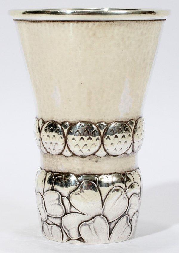 "071004: GEORG JENSEN STERLING CUP, C. 1925-1930, H 4"","