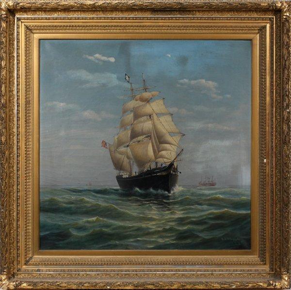 072002: SETH ARCA WHIPPLE [AMERICAN 1855-1901], OIL/CAN