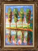 072283: SERGE MENDJISKY (FRENCH B. 1929), OIL ON CANVAS