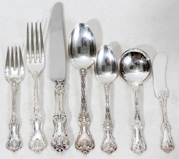 080004: FRANK SMITH SILVER CO. & WHITING FLATWARE,