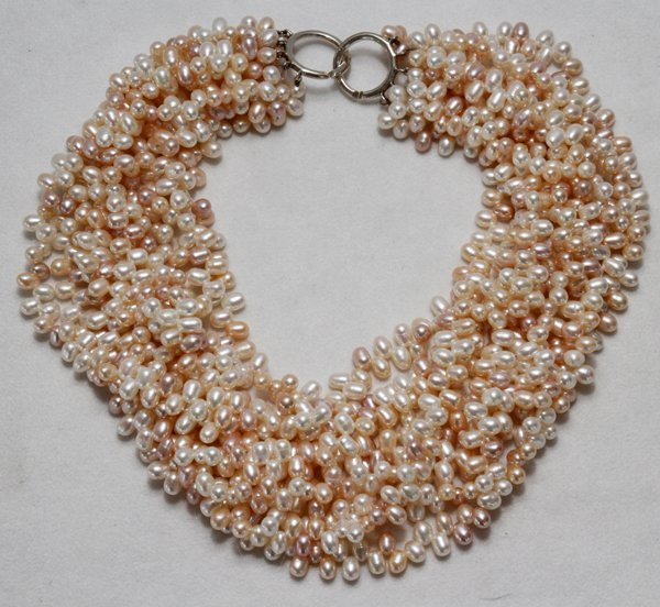 091244: PALOMA PICASSO MULTI-STRAND PEARL NECKLACE