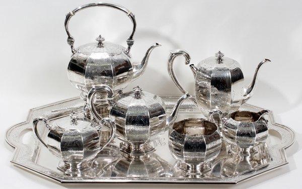 101003: BLACK, STARR, & FROST STERLING TEA & COFFEE