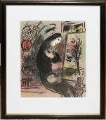 101141 MARC CHAGALL LITHO UNSIGNED EDITION OF 2000