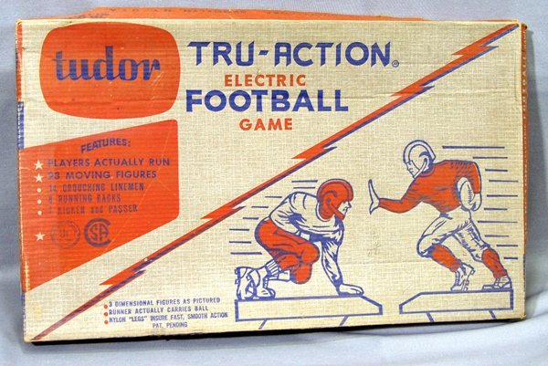 110271: TUDOR, TRU-ACTION-ELECTRIC FOOTBALL GAME