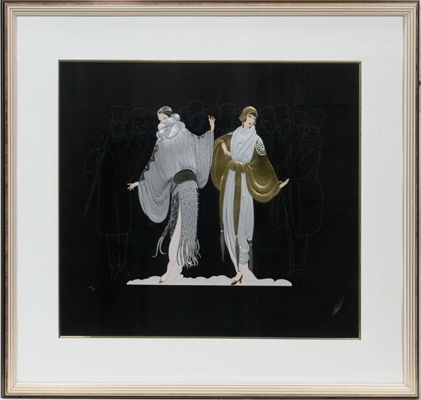 112015: ERTÉ (RUSSIAN/FRENCH 1892-1990], SERIGRAPH