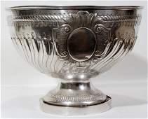 120074 VICTORIAN STERLING PUNCH BOWL LONDON 188990