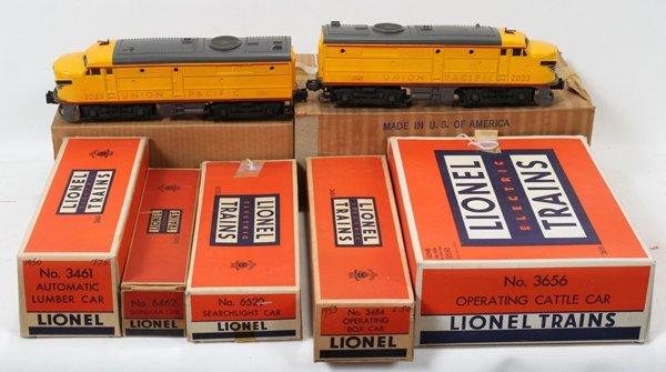 120343:LIONEL TRAINS, UNION PACIFIC, #2023 DIESEL LOC