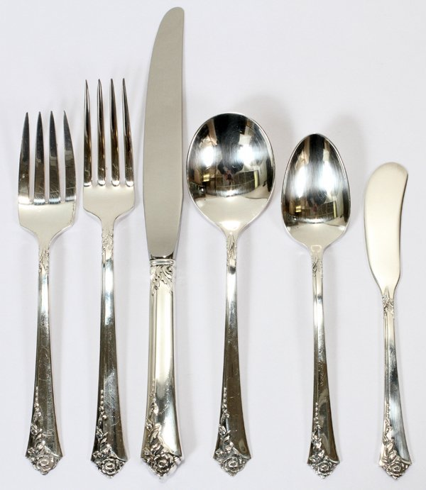 010003: HEIRLOOM PATTERN STERLING FLATWARE
