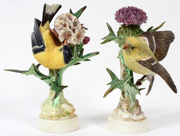 011004: DOROTHY DOUGHTY ROYAL WORCESTER FINCH