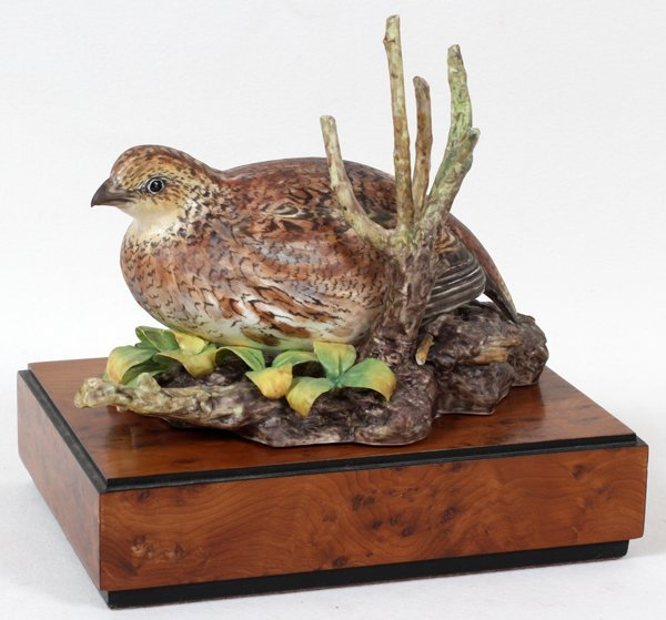 011021: RONALD VAN RUYCKEVELT FOR ROYAL WORCESTER QUAIL