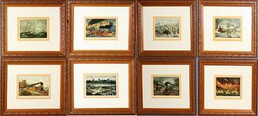 011582 AFTER CURRIER  IVES PRINTS SIX 5 12 X 8